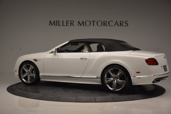 New 2017 Bentley Continental GT Speed Convertible for sale Sold at Maserati of Greenwich in Greenwich CT 06830 16