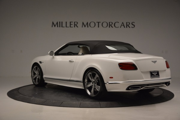 New 2017 Bentley Continental GT Speed Convertible for sale Sold at Maserati of Greenwich in Greenwich CT 06830 17
