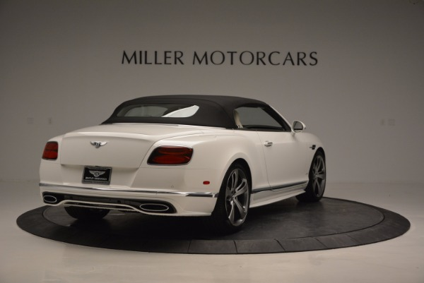 New 2017 Bentley Continental GT Speed Convertible for sale Sold at Maserati of Greenwich in Greenwich CT 06830 19