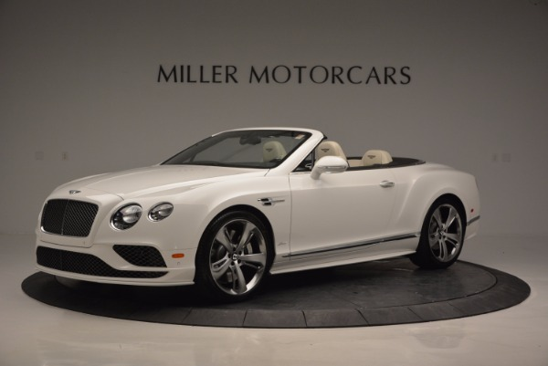 New 2017 Bentley Continental GT Speed Convertible for sale Sold at Maserati of Greenwich in Greenwich CT 06830 2