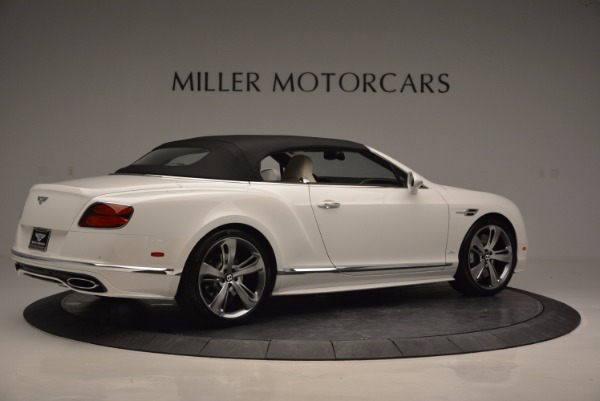 New 2017 Bentley Continental GT Speed Convertible for sale Sold at Maserati of Greenwich in Greenwich CT 06830 20