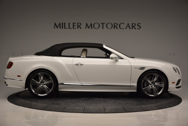 New 2017 Bentley Continental GT Speed Convertible for sale Sold at Maserati of Greenwich in Greenwich CT 06830 21