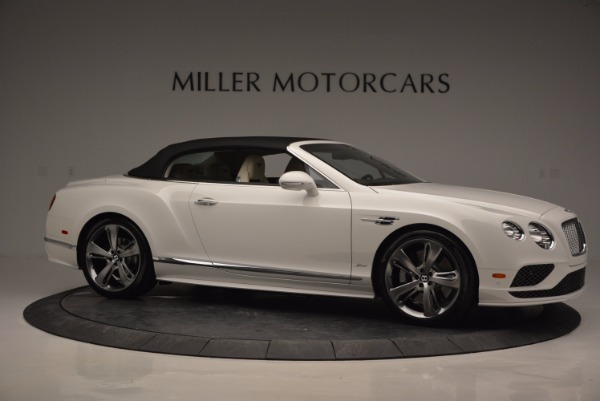 New 2017 Bentley Continental GT Speed Convertible for sale Sold at Maserati of Greenwich in Greenwich CT 06830 22