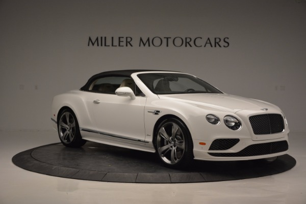 New 2017 Bentley Continental GT Speed Convertible for sale Sold at Maserati of Greenwich in Greenwich CT 06830 23