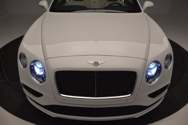 New 2017 Bentley Continental GT Speed Convertible for sale Sold at Maserati of Greenwich in Greenwich CT 06830 27