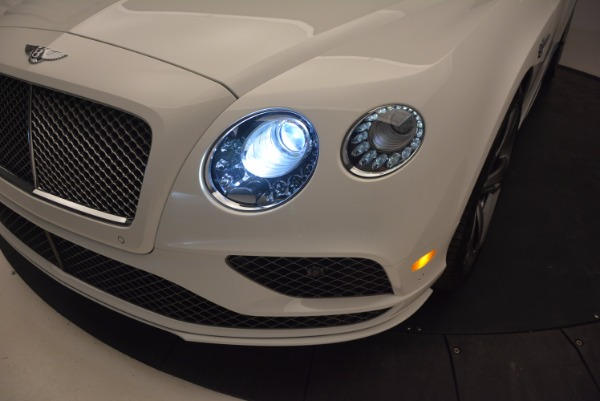 New 2017 Bentley Continental GT Speed Convertible for sale Sold at Maserati of Greenwich in Greenwich CT 06830 28