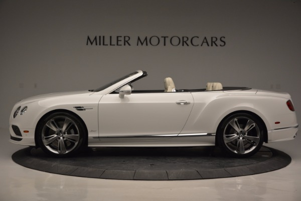 New 2017 Bentley Continental GT Speed Convertible for sale Sold at Maserati of Greenwich in Greenwich CT 06830 3