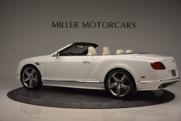 New 2017 Bentley Continental GT Speed Convertible for sale Sold at Maserati of Greenwich in Greenwich CT 06830 4