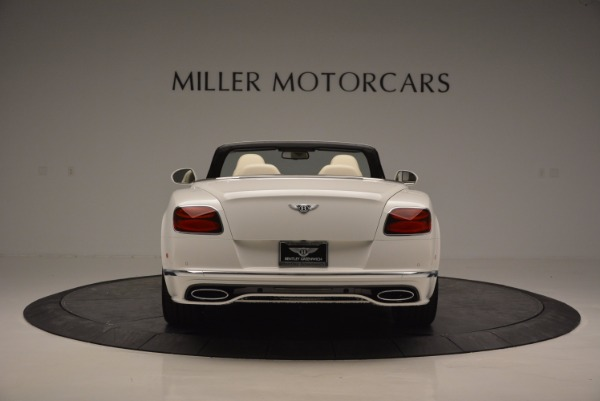 New 2017 Bentley Continental GT Speed Convertible for sale Sold at Maserati of Greenwich in Greenwich CT 06830 6