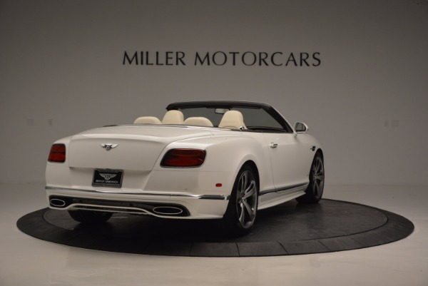 New 2017 Bentley Continental GT Speed Convertible for sale Sold at Maserati of Greenwich in Greenwich CT 06830 7