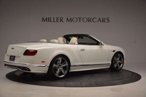New 2017 Bentley Continental GT Speed Convertible for sale Sold at Maserati of Greenwich in Greenwich CT 06830 8