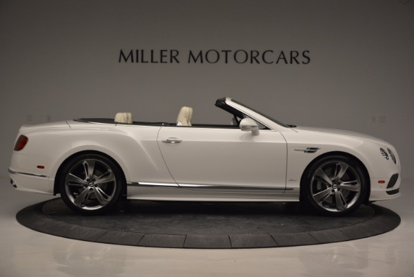 New 2017 Bentley Continental GT Speed Convertible for sale Sold at Maserati of Greenwich in Greenwich CT 06830 9