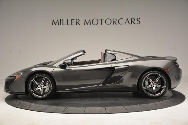 Used 2016 McLaren 650S SPIDER Convertible for sale Sold at Maserati of Greenwich in Greenwich CT 06830 3