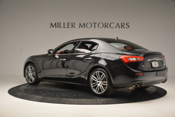 New 2017 Maserati Ghibli S Q4 for sale Sold at Maserati of Greenwich in Greenwich CT 06830 4