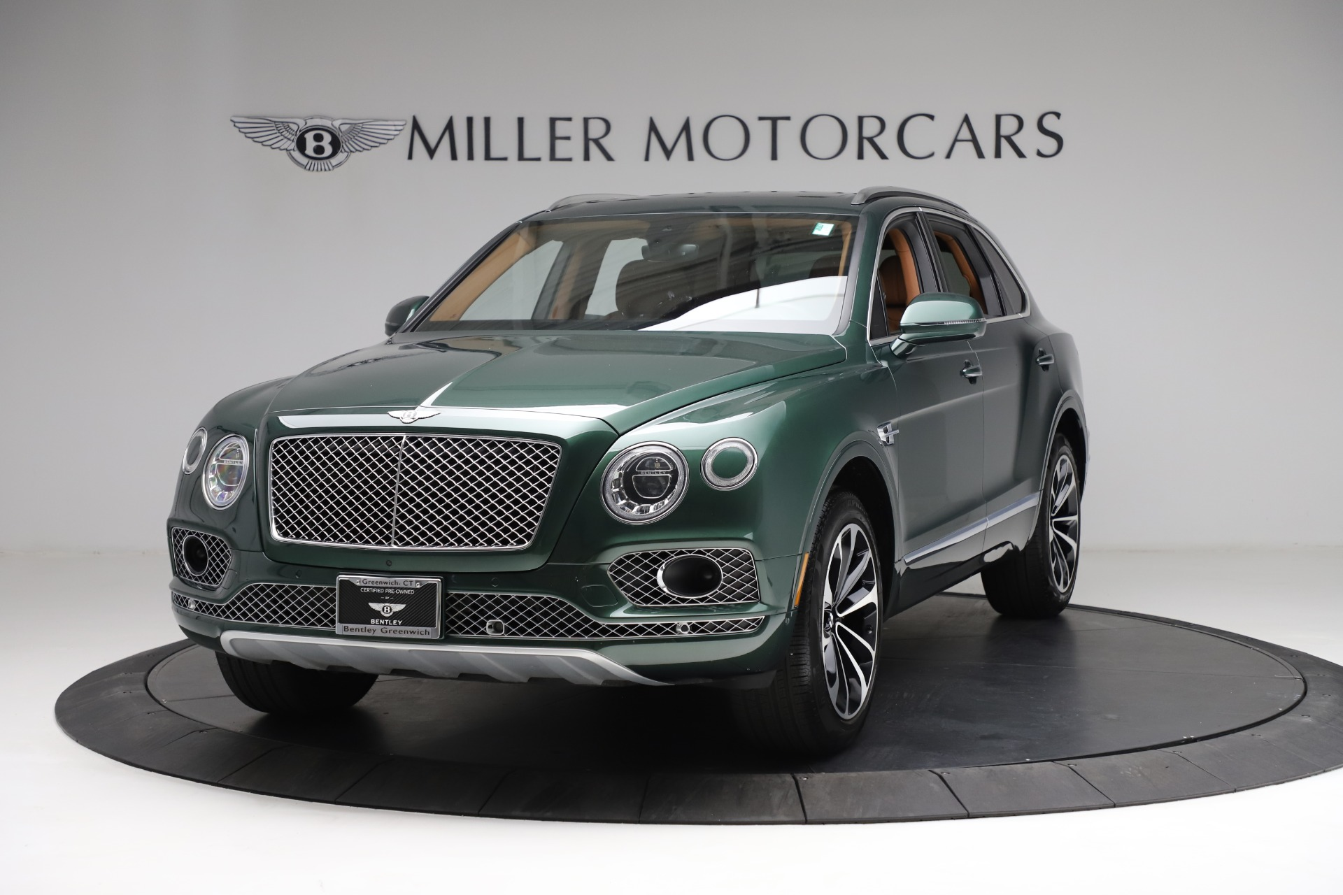 Used 2017 Bentley Bentayga W12 for sale $139,900 at Maserati of Greenwich in Greenwich CT 06830 1