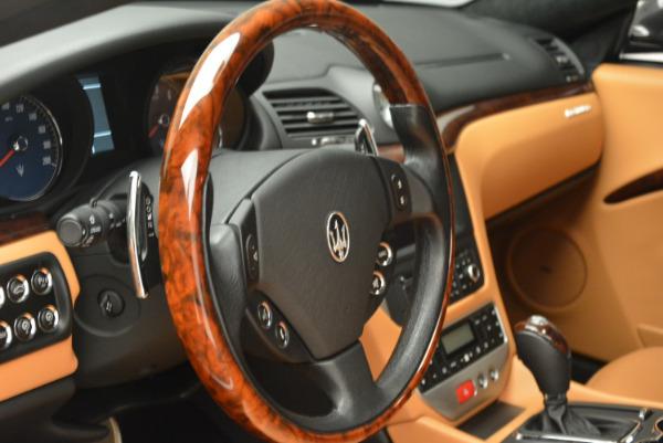 Used 2011 Maserati GranTurismo for sale Sold at Maserati of Greenwich in Greenwich CT 06830 16