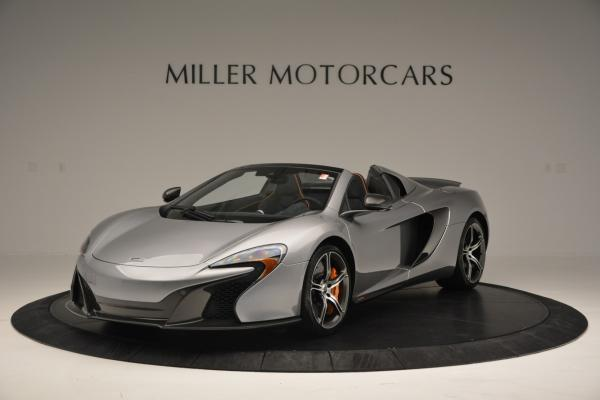 Used 2016 McLaren 650S SPIDER Convertible for sale Sold at Maserati of Greenwich in Greenwich CT 06830 2
