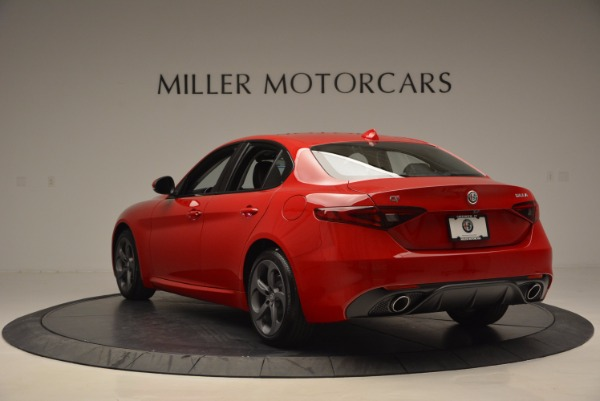 New 2017 Alfa Romeo Giulia Q4 for sale Sold at Maserati of Greenwich in Greenwich CT 06830 5