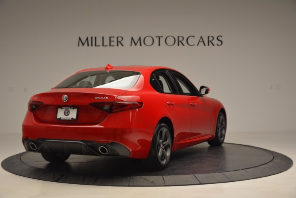 New 2017 Alfa Romeo Giulia Q4 for sale Sold at Maserati of Greenwich in Greenwich CT 06830 7