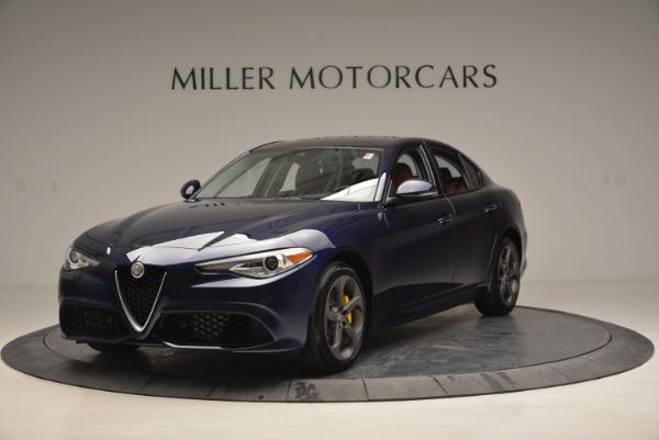 New 2017 Alfa Romeo Giulia Q4 for sale Sold at Maserati of Greenwich in Greenwich CT 06830 1