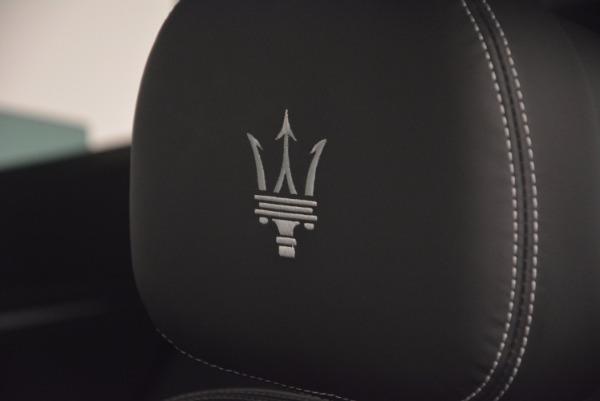 New 2017 Maserati Levante S Q4 for sale Sold at Maserati of Greenwich in Greenwich CT 06830 20