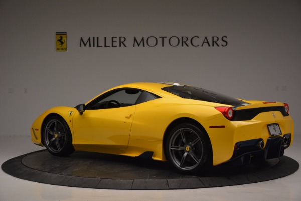 Used 2015 Ferrari 458 Speciale for sale Sold at Maserati of Greenwich in Greenwich CT 06830 4