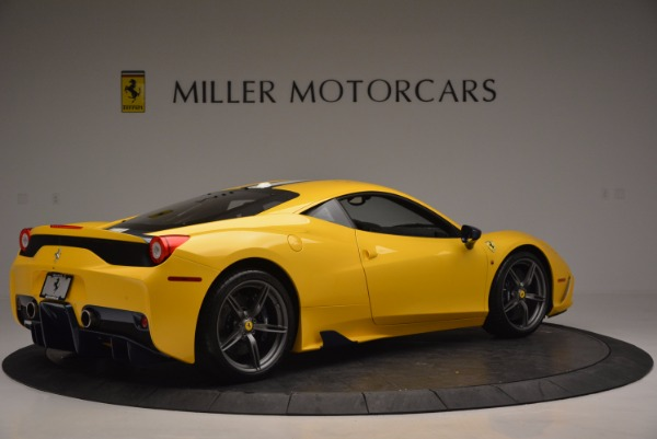 Used 2015 Ferrari 458 Speciale for sale Sold at Maserati of Greenwich in Greenwich CT 06830 8