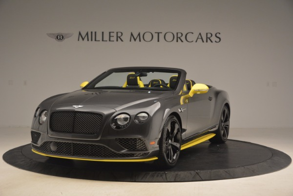 New 2017 Bentley Continental GT Speed Black Edition for sale Sold at Maserati of Greenwich in Greenwich CT 06830 1