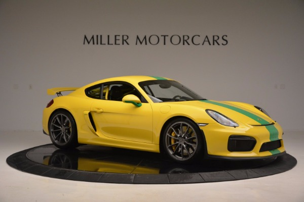 Used 2016 Porsche Cayman GT4 for sale Sold at Maserati of Greenwich in Greenwich CT 06830 10