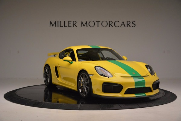 Used 2016 Porsche Cayman GT4 for sale Sold at Maserati of Greenwich in Greenwich CT 06830 11
