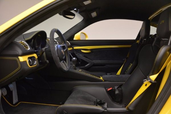 Used 2016 Porsche Cayman GT4 for sale Sold at Maserati of Greenwich in Greenwich CT 06830 14