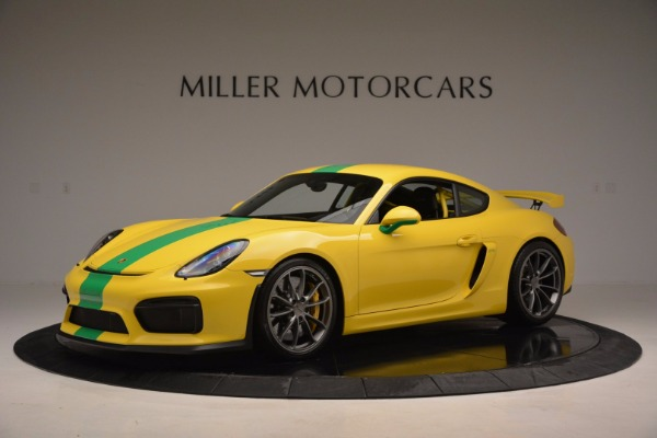 Used 2016 Porsche Cayman GT4 for sale Sold at Maserati of Greenwich in Greenwich CT 06830 2