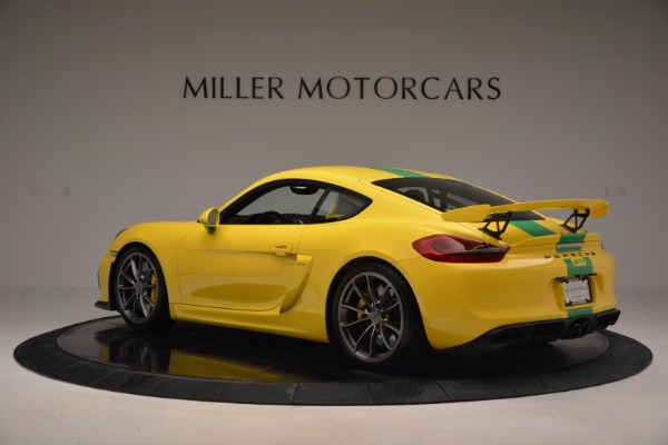 Used 2016 Porsche Cayman GT4 for sale Sold at Maserati of Greenwich in Greenwich CT 06830 4