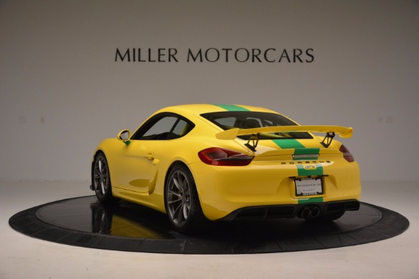 Used 2016 Porsche Cayman GT4 for sale Sold at Maserati of Greenwich in Greenwich CT 06830 5