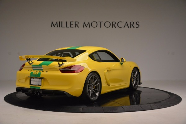 Used 2016 Porsche Cayman GT4 for sale Sold at Maserati of Greenwich in Greenwich CT 06830 7