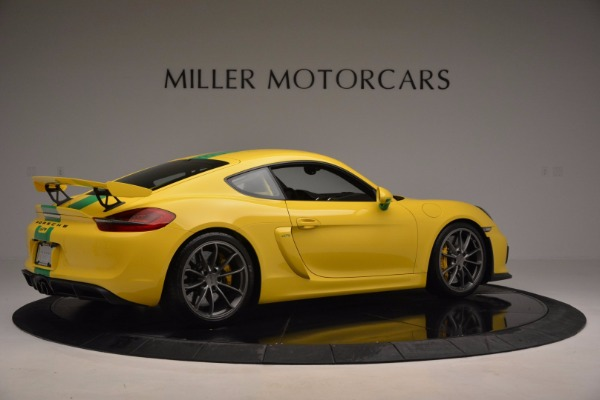 Used 2016 Porsche Cayman GT4 for sale Sold at Maserati of Greenwich in Greenwich CT 06830 8