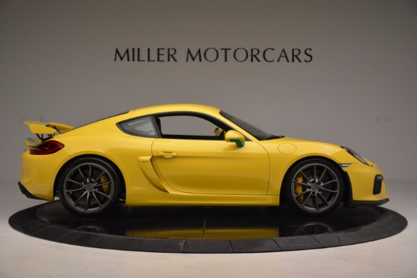 Used 2016 Porsche Cayman GT4 for sale Sold at Maserati of Greenwich in Greenwich CT 06830 9