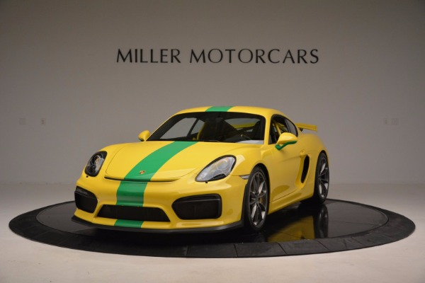Used 2016 Porsche Cayman GT4 for sale Sold at Maserati of Greenwich in Greenwich CT 06830 1