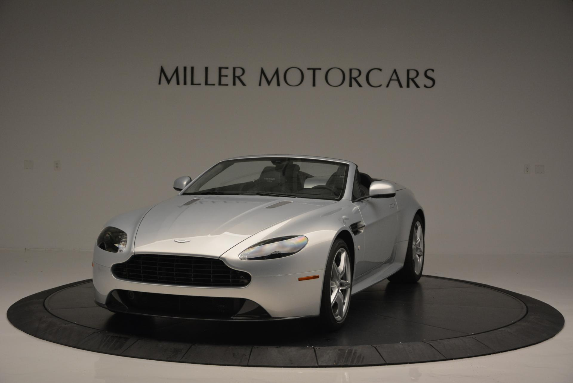 New 2016 Aston Martin V8 Vantage GTS Roadster for sale Sold at Maserati of Greenwich in Greenwich CT 06830 1