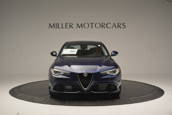 New 2018 Alfa Romeo Giulia Ti Sport Q4 for sale Sold at Maserati of Greenwich in Greenwich CT 06830 12