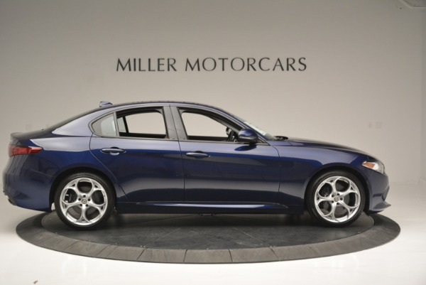 New 2018 Alfa Romeo Giulia Ti Sport Q4 for sale Sold at Maserati of Greenwich in Greenwich CT 06830 9