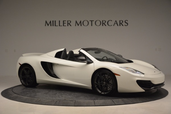 Used 2014 McLaren MP4-12C Spider for sale Sold at Maserati of Greenwich in Greenwich CT 06830 10