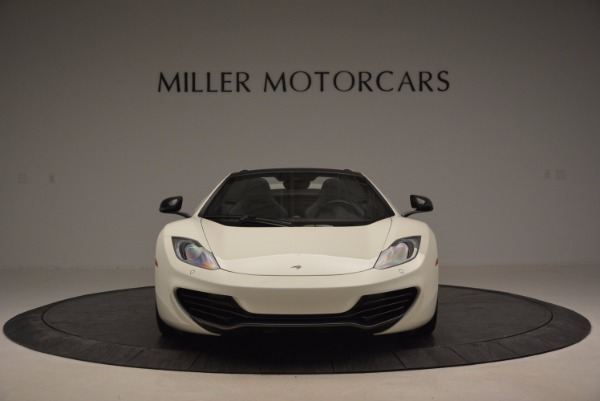 Used 2014 McLaren MP4-12C Spider for sale Sold at Maserati of Greenwich in Greenwich CT 06830 12