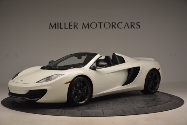 Used 2014 McLaren MP4-12C Spider for sale Sold at Maserati of Greenwich in Greenwich CT 06830 2