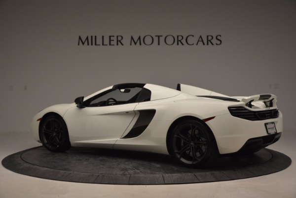 Used 2014 McLaren MP4-12C Spider for sale Sold at Maserati of Greenwich in Greenwich CT 06830 4