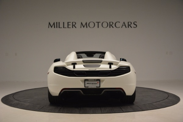 Used 2014 McLaren MP4-12C Spider for sale Sold at Maserati of Greenwich in Greenwich CT 06830 6
