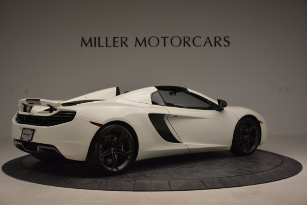 Used 2014 McLaren MP4-12C Spider for sale Sold at Maserati of Greenwich in Greenwich CT 06830 8