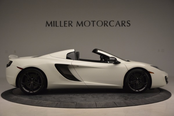 Used 2014 McLaren MP4-12C Spider for sale Sold at Maserati of Greenwich in Greenwich CT 06830 9