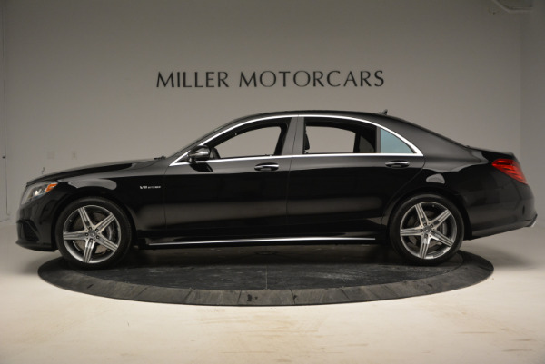 Used 2014 Mercedes Benz S-Class S 63 AMG for sale Sold at Maserati of Greenwich in Greenwich CT 06830 3