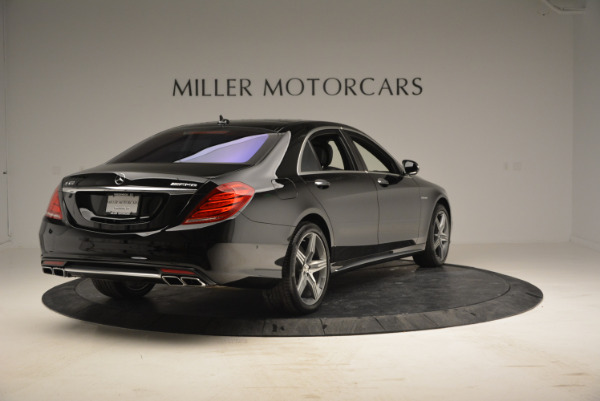 Used 2014 Mercedes Benz S-Class S 63 AMG for sale Sold at Maserati of Greenwich in Greenwich CT 06830 7